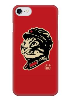 "Чехол для iPhone 7 глянцевый ""Chairman Meow"" - meow, котэ, мао, мяу, mao"