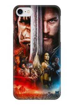 "Чехол для iPhone 7 глянцевый ""WarCraft"" - warcraft, варкрафт"