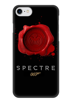 "Чехол для iPhone 7 глянцевый ""Spectre "" - 007, james bond, джеймс бонд, спектр, spectre"