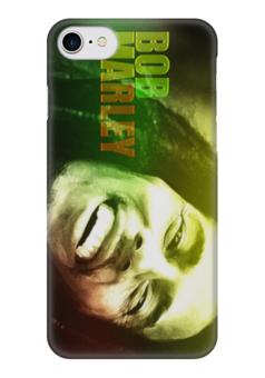 "Чехол для iPhone 7 глянцевый ""боб марли"" - музыка, боб марли, bob marley, боб"