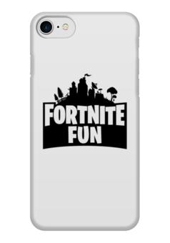 """Чехол для iPhone 7 глянцевый """"Fortnite Fun """" - fortnite"""
