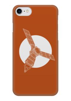 "Чехол для iPhone 7 глянцевый ""Juno Mission"" - космос, thespaceway, nasa, юнона, юпитер"