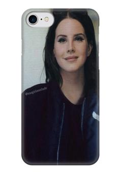 """Чехол для iPhone 7 глянцевый """"Lana Del Rey"""" - lana del rey, лана дель рей, арт, lana, лана"""