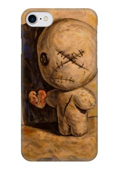"""Чехол для iPhone 7 глянцевый """"Адриан Борда / Моя тень"""" - сердце, любовь, арт, иллюстрация, тень, сюрреализм, адриан борда, adrian borda"""