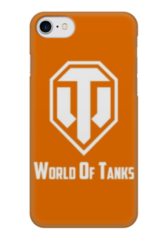 "Чехол для iPhone 7 глянцевый ""world of tanks"" - игры, world of tanks, танки, wot, tanks"