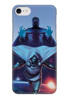 """Чехол для iPhone 7 глянцевый """"X-MEN"""" - супергерои, люди икс, heroes, марвел, x-men"""