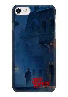 """Чехол для iPhone 7 глянцевый """"Джек Потрошитель"""" - джек потрошитель, маньяк, убийца, jack the ripper, jack ripper"""