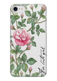 Чехол пластиковый с индивидуальным дизайном «Треш полька» для iPhone