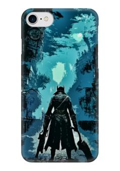 """Чехол для iPhone 7 глянцевый """"Bloodborne"""" - rpg, рпг, бладборн, хидэтаки миядзаки"""