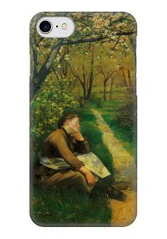 """Чехол для iPhone 7 глянцевый """"Весна (картина Башкирцевой)"""" - картина, башкирцева"""
