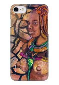 """Чехол для iPhone 7 глянцевый """"Рея - богиня Земли"""" - эксклюзивнаяграфика, женскийобраз, богиня, творчество, магия"""