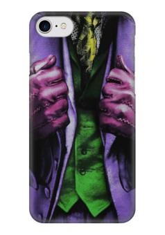 """Чехол для iPhone 7 глянцевый """"Костюм джокера"""" - комиксы, dc, joker, джокер"""