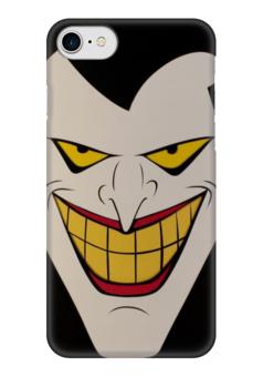 """Чехол для iPhone 7 глянцевый """"Джокер"""" - joker, комиксы, batman, бэтмен, dc comics"""