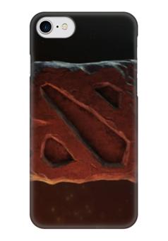 """Чехол для iPhone 7 глянцевый """"dota 2"""" - игры, dota 2, дота 2"""