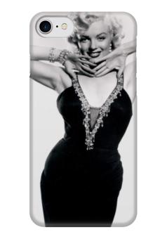 """Чехол для iPhone 7 глянцевый """"Мэрилин Монро"""" - певица, блондинка, монро, актриса, мэрилин монро"""