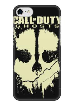 "Чехол для iPhone 7 глянцевый ""Call of Duty Ghosts"" - компьютерные игры, call of duty, зов долга, cod, call of duty ghosts"