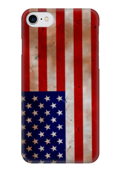 "Чехол для iPhone 7 глянцевый ""Америка"" - америка, сша"