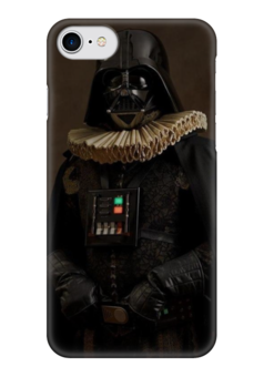 "Чехол для iPhone 7 глянцевый ""Super Flamands"" - darth vader, дарт вейдер, звёздные войны, super flamands"