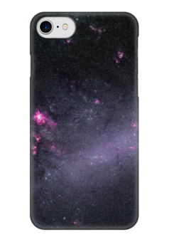 """Чехол для iPhone 7 глянцевый """"Вселенная"""" - звезды, космос, вселенная, наука, галактика"""