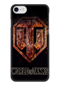 "Чехол для iPhone 7 глянцевый ""World Of Tanks"" - игра, game, world of tanks, танки, wot"