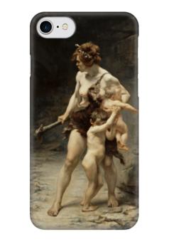 "Чехол для iPhone 7 глянцевый ""Две матери"" - картина, февр"