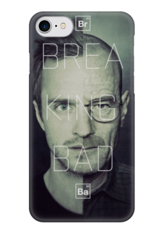 """Чехол для iPhone 7 глянцевый """"Breaking Bad Jesse Pinkman/Walter White"""" - во все тяжкие, breaking bad, walter white, jesse pinkman"""