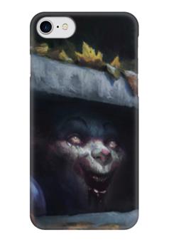 "Чехол для iPhone 7 глянцевый ""Клоун (Оно)"" - it, оно, стивен кинг, stephen kings"