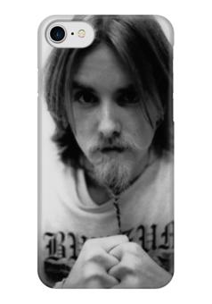 "Чехол для iPhone 7 глянцевый ""Варг Викернес"" - викинги, путь воина, варг викернес"