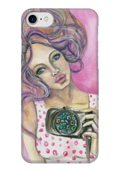 """Чехол для iPhone 7 глянцевый """"Персефона"""" - женскийобраз, магия, творчество, богиня"""