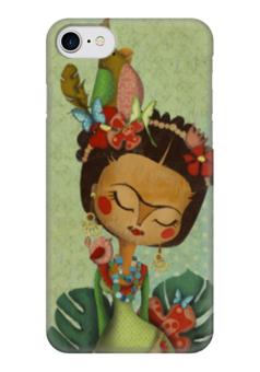 """Чехол для iPhone 7 глянцевый """"Frida Kahlo"""" - любовь, художник, фрида кало, фрида, frida kahlo"""