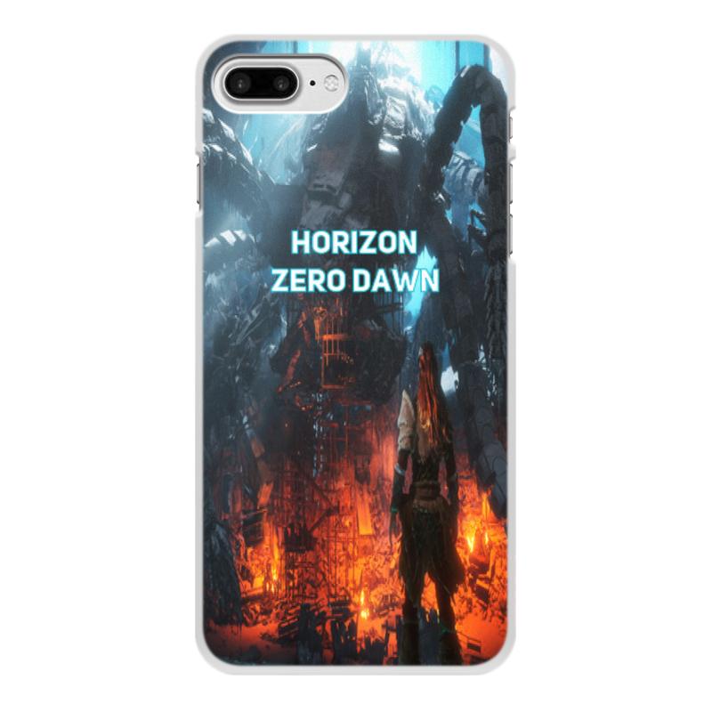 Фото - Чехол для iPhone 7 Plus, объёмная печать Printio Horizon zero dawn чехол для iphone 7 plus объёмная печать printio ромашки