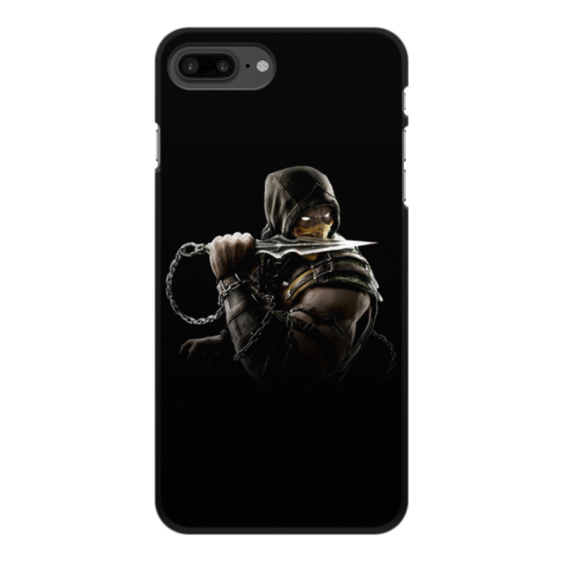 Чехол для iPhone 7 Plus, объёмная печать Printio Mortal kombat (scorpion) black new 7 85 inch regulus 2 itwgn785 tablet touch screen panel digitizer glass sensor replacement free shipping