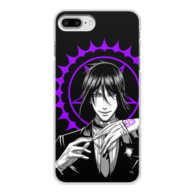 Чехол для iPhone 7 Plus, объёмная печать Printio Тёмный дворецкий чехол spigen slim armor для iphone 6 plus 5 5 тёмный металлик sgp10905