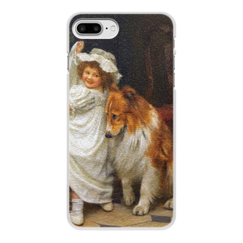 Чехол для iPhone 7 Plus, объёмная печать Printio Картина артура элсли (1860-1952) чехол для iphone 6 глянцевый printio дама в голубом картина сомова