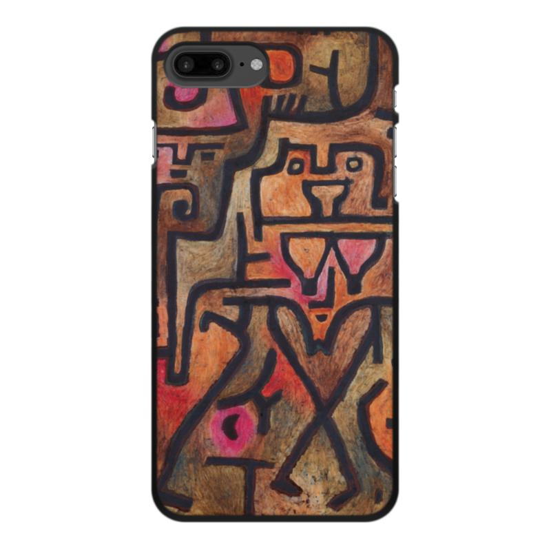 Чехол для iPhone 7 Plus, объёмная печать Printio Лесные ведьмы (пауль клее) чехол для samsung galaxy s5 printio лесные ведьмы пауль клее