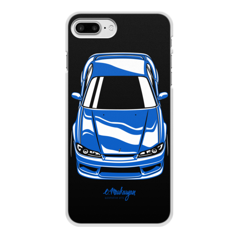 Чехол для iPhone 7 Plus, объёмная печать Printio Silvia s15 чехол soft touch для iphone 7 plus df islim 06