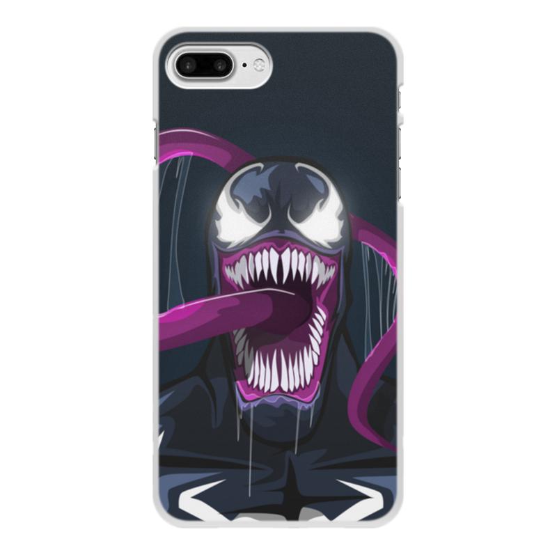 Чехол для iPhone 7 Plus, объёмная печать Printio Веном (venom) printio чехол для iphone 7 plus объёмная печать