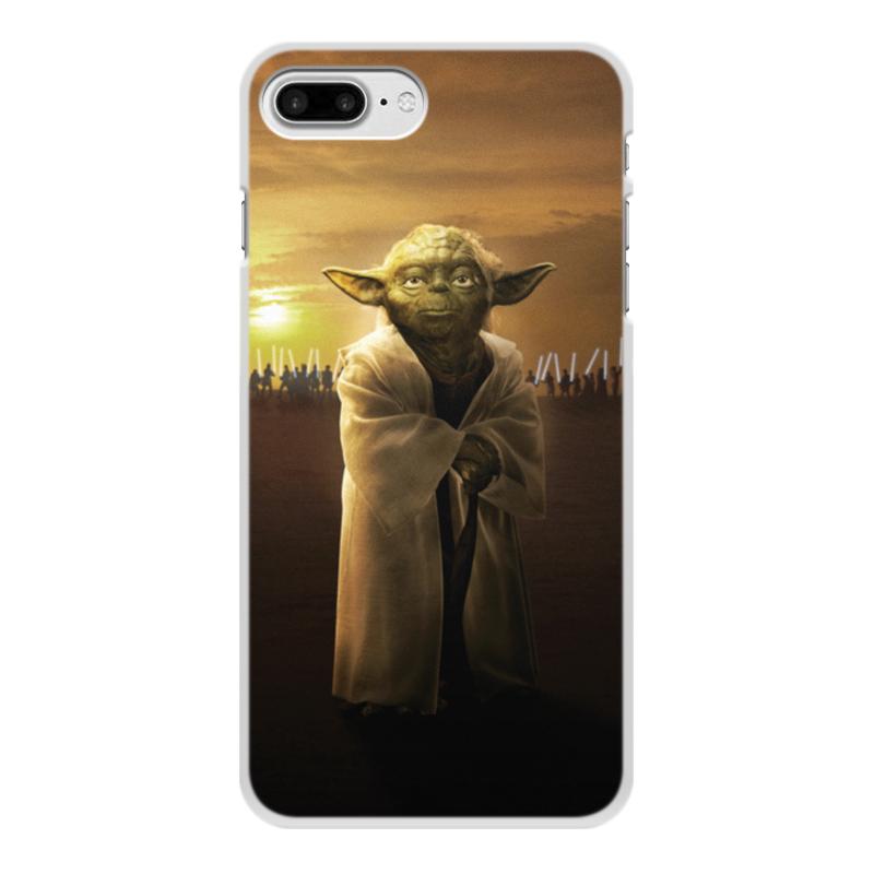 Чехол для iPhone 7 Plus, объёмная печать Printio Звездные войны - йода