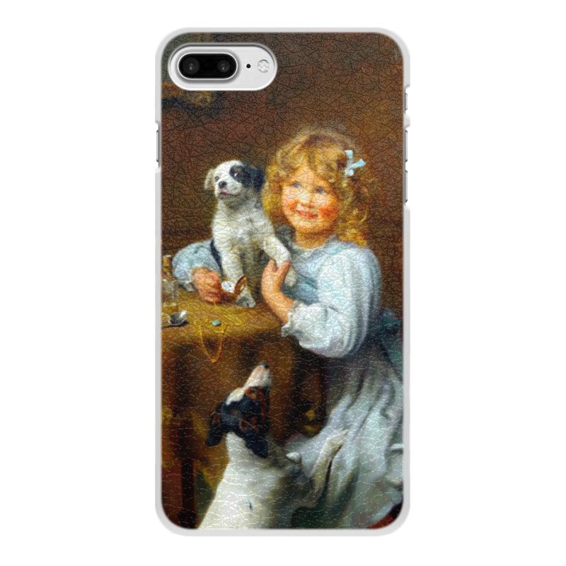 Чехол для iPhone 7 Plus, объёмная печать Printio Картина артура элсли (1860-1952) чехол для iphone 7 plus глянцевый printio 2018 год собаки