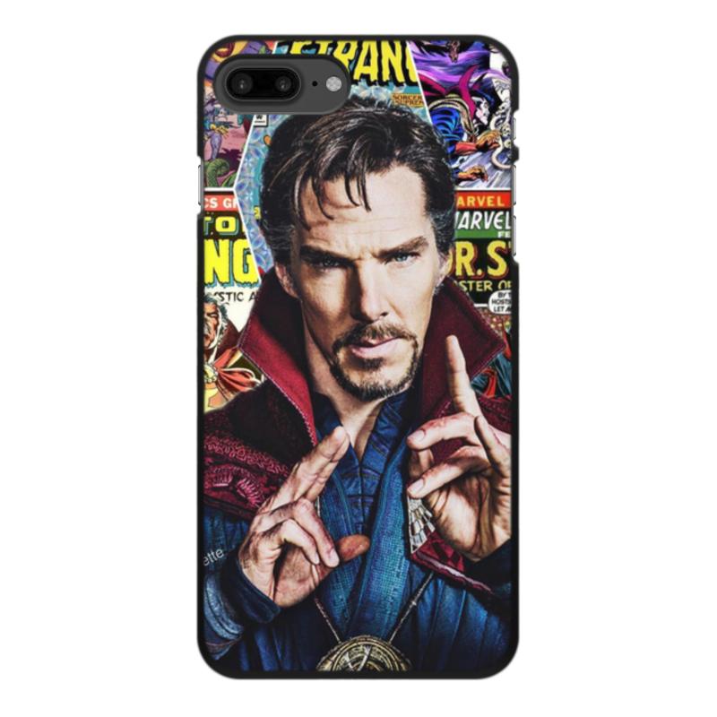 Чехол для iPhone 7 Plus, объёмная печать Printio Marvel купить чехол для смартфона лджи 880