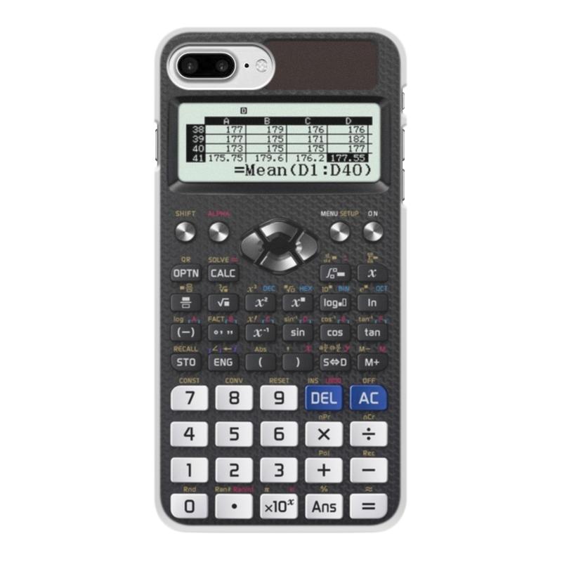 Чехол для iPhone 7 Plus, объёмная печать Printio Калькулятор инженерный калькулятор iphone цвет белый 002279