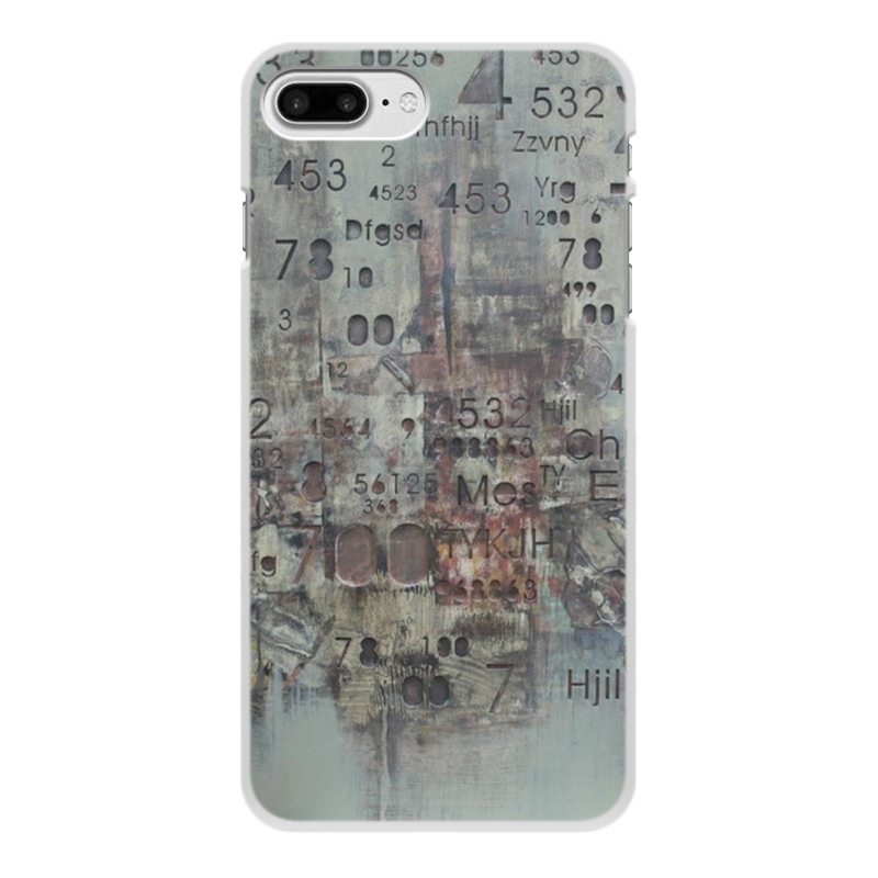 Чехол для iPhone 7 Plus, объёмная печать Printio Цифры printio чехол для iphone 7 plus глянцевый