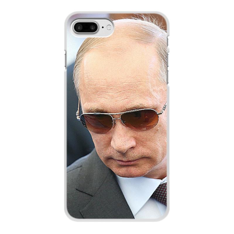 Чехол для iPhone 7 Plus, объёмная печать Printio Путин. политика чехол для iphone 7 plus объёмная печать printio золотая роза