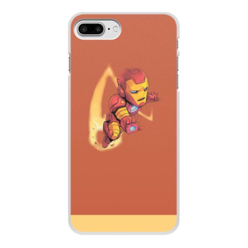 Чехол для iPhone 7 Plus, объёмная печать Printio Iron man: prime armor чехол spigen slim armor для iphone 6 plus 5 5 тёмный металлик sgp10905