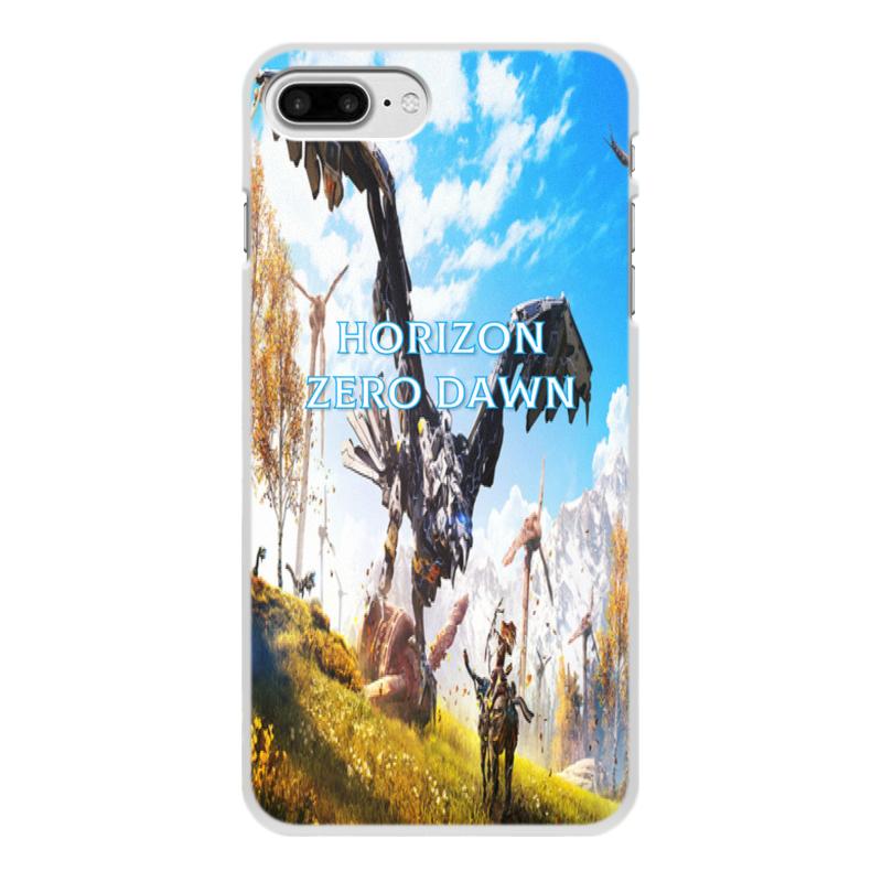 Чехол для iPhone 7 Plus, объёмная печать Printio Horizon zero dawn jyss белый iphone 77 plus