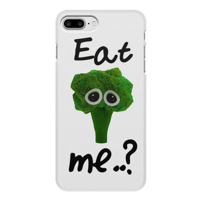 Чехол для iPhone 7 Plus, объёмная печать Printio Eat me..? чехол аккумулятор deppa nrg case 2600 mah для iphone 7 белый 33520
