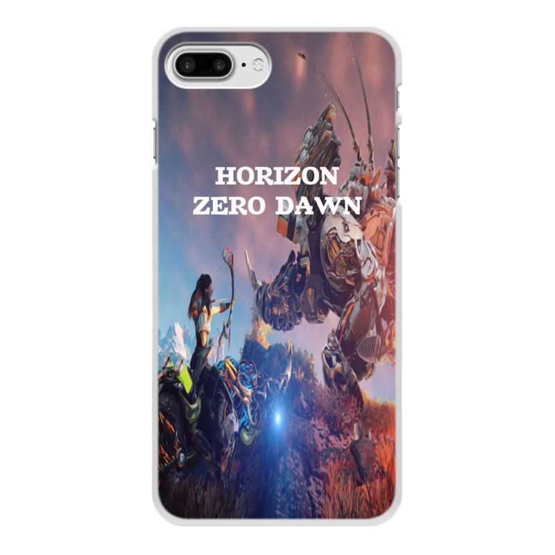 Чехол для iPhone 7 Plus, объёмная печать Printio Horizon zero dawn чехол для iphone 7 plus глянцевый printio watch dogs