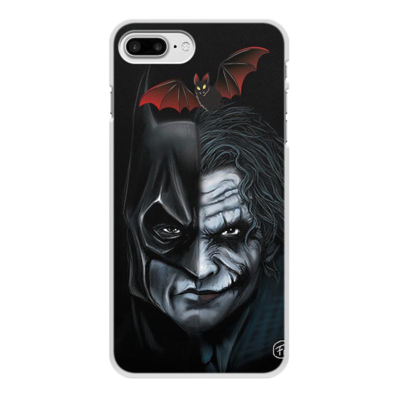 Чехол для iPhone 7 Plus, объёмная печать Printio Бэтмен джокер цена и фото
