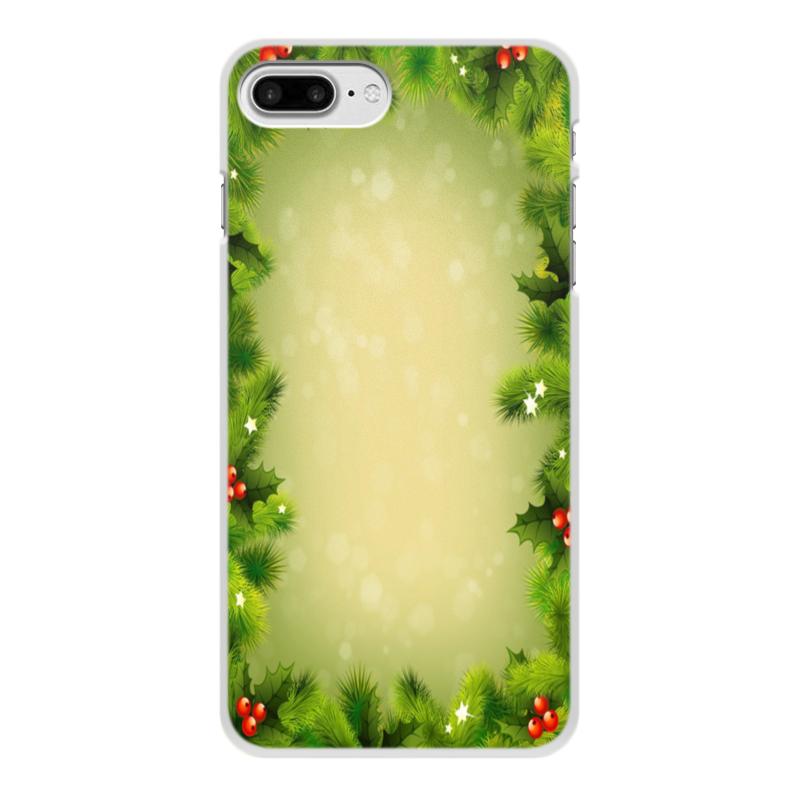 Чехол для iPhone 7 Plus, объёмная печать Printio С новым годом! цена