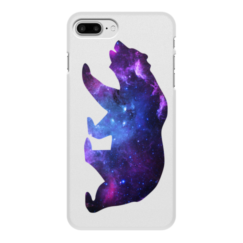 Чехол для iPhone 7 Plus, объёмная печать Printio Space animals чехол аккумулятор deppa nrg case 2600 mah для iphone 7 белый 33520